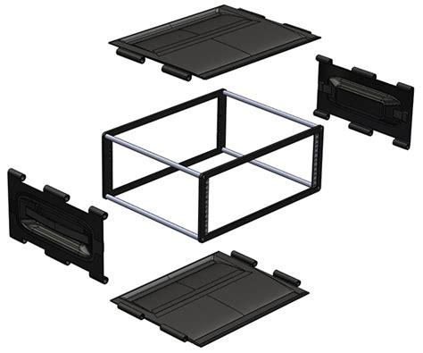 Desktop 19 Rack by Portable Desktop 19 Quot Rack 4u On Behance
