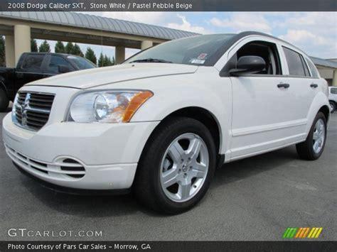 white 2008 dodge caliber white 2008 dodge caliber sxt pastel pebble beige