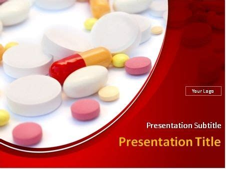 This Powerpoint Template Will Fit Presentations On Pharmacology Powerpoint Templates Free