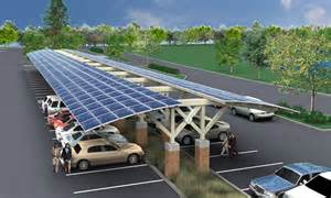 Solar Parking Canopy by I Wish This Was A Solar Parking Lot Bungalower