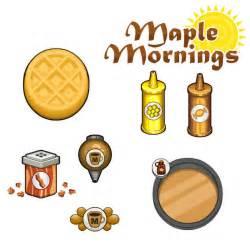 Papa s donuteria maple mornings by mokamizore97 on deviantart