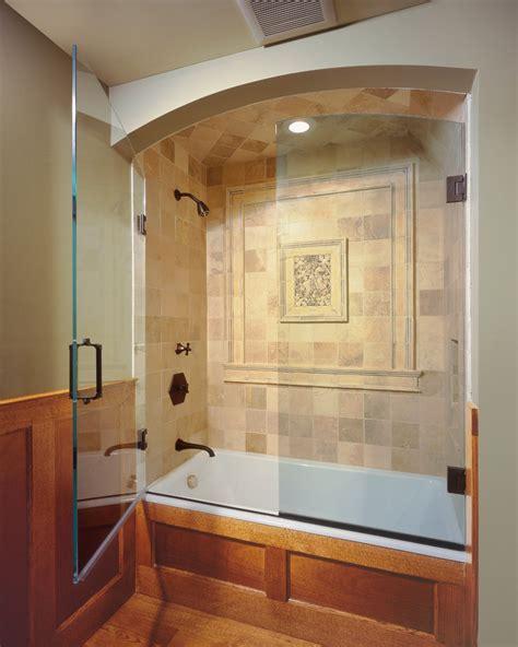 frameless tub enclosures Bathroom Contemporary with frameless glass tub enclosures