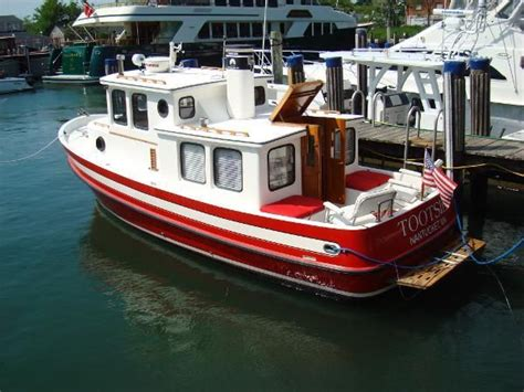 nordic boat plans 1982 nordic tug 26 really nice for a small boat