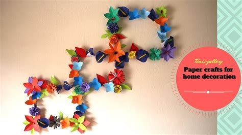 Paper Craft For Wall Decoration - diy ideas newspaper magazine wall decor paper crafts