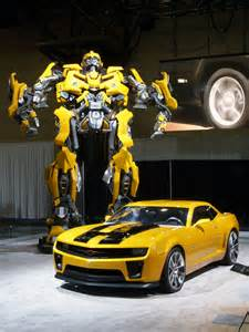 the new bumblebee car bumblebee camaro transformer a photo on flickriver
