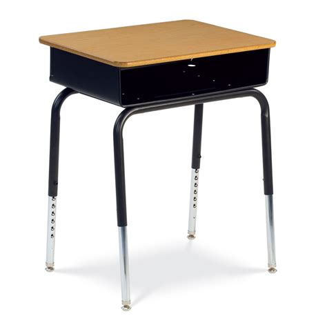 Virco 785 Series Metal Box Student Desk Set Of 2 College Student Desks