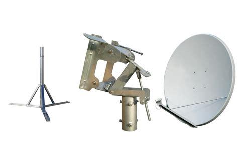 Braket Ku Band Fiber Tebal antenna dish pro 150 polar mount tripod kit pro mount dish tripod 150 120 cm fiberglass
