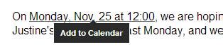 Add To Calendar Link In Email Link A Gmail Message To A Calendar Event