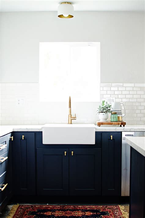 Navy Blue Kitchen Cabinets by And Loisnavy Blue Kitchen Cabinets And Lois