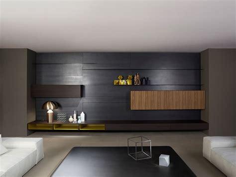 Wohnwand Modern Design porro wohnw 228 nde wohnwand modern designbest