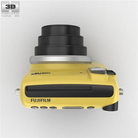 Fujifilm Instax Mini 70 Kuning fujifilm instax mini 70 yellow 3d model hum3d