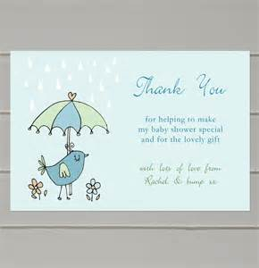 personalised baby shower thank you cards by molly moo designs notonthehighstreet