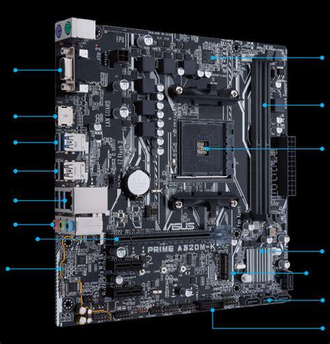 Diskon Mb Asus Prime A320m K Am4 prime a320m k motherboards asus global