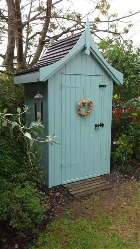 Painted Garden Sheds by Best 20 Cottage Garden Sheds Ideas On Yard