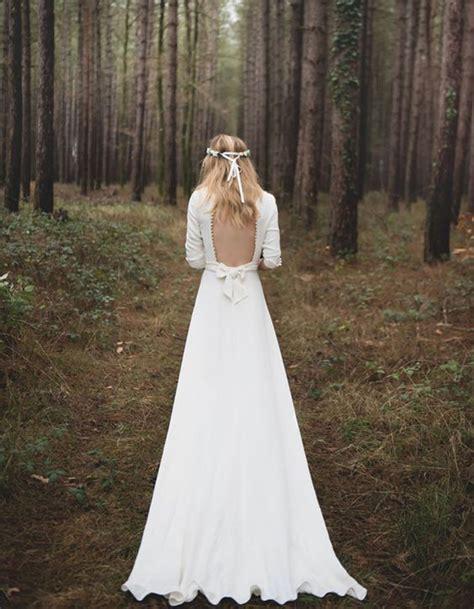 Robe De Mariée Simple Dentelle Dos - robe de mari 233 e de princesse dos nu 66 robes de mari 233 e de