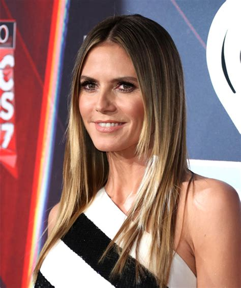 what colour is heidi klum s hair heidi klum hairstyles in 2018