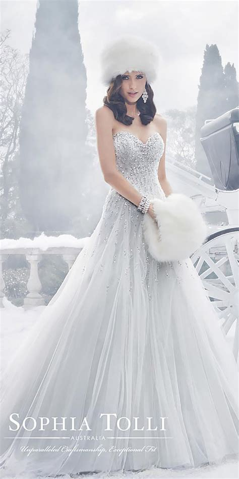 Winter Wedding Dresses by Trubridal Wedding 24 Winter Wedding Dresses