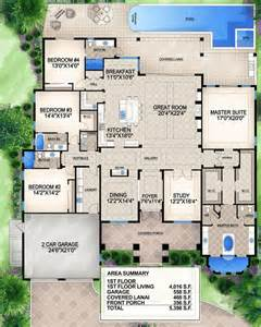 Southern Homes Floor Plans Grand Southern Home Plan