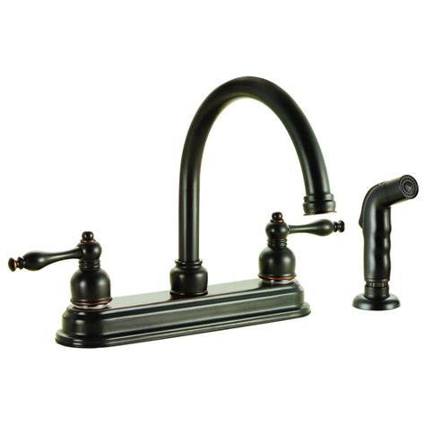 design house kitchen faucets design house saratoga 2 handle standard kitchen faucet