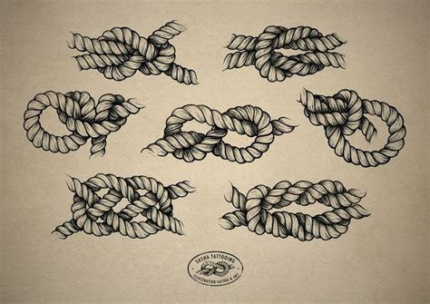 rope knot tattoo designs 1000 images about on rope rope