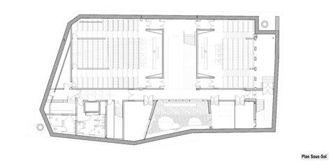 architecture school floor plan gallery of strasbourg school of architecture marc mimram