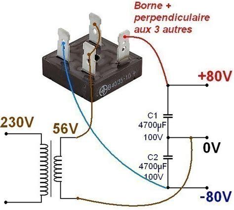 test pont diode alimentation ultra simple pour li audio