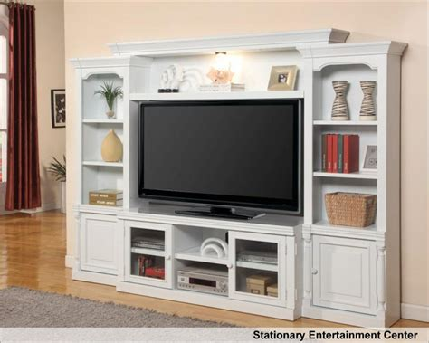 Theater Home Decor by Parker House Entertainment Wall Unit Premier Alpine Phpal