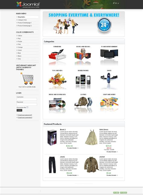 joomla shop template free vamazing premium joomla virtuemart shop template