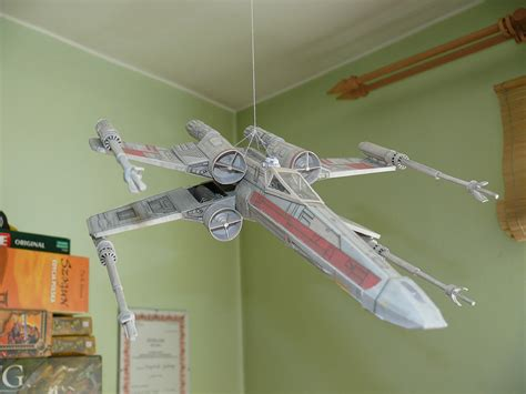 X Wing Papercraft - x wing paper model by atin38 on deviantart