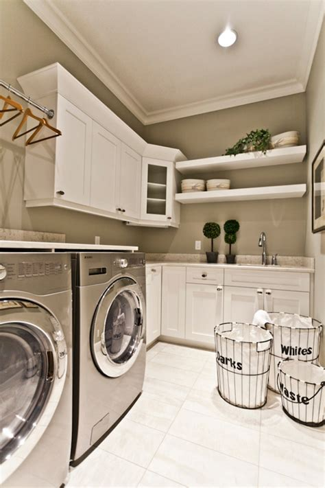 Decorating Ideas For Laundry Rooms 51 Wonderfully Clever Laundry Room Design Ideas