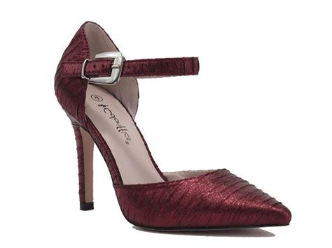 coloriffics shoes style elana burgundy elana burgundy