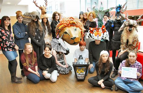 carnival time  wild animal  narnia inspired costumes