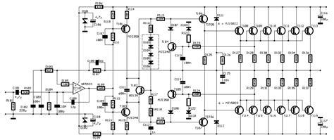 skema transistor bd139 rangkaian power lifier 600 watt pa600 187 skemaku