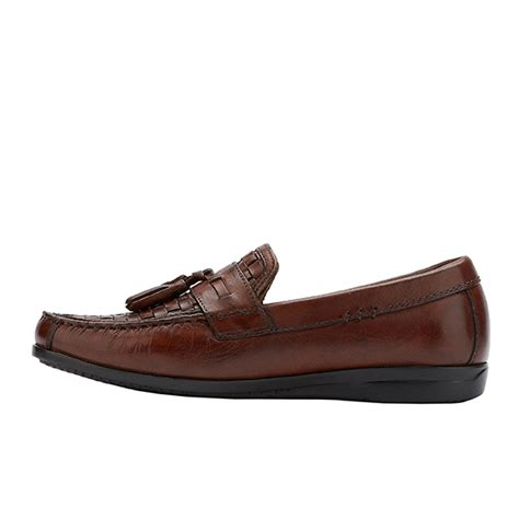 Sepatu Murah Country Boots Casual Slip On Canvas Hitam mens dockers hillsboro slip on loafer antique brown