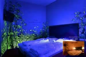 Trippy Wall Murals fluoreszierende farbe wandmalerei mit nachtleuchtenden