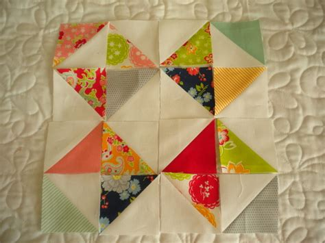 Quilt Square Designs by With Half Square Triangle Quilt Blocks