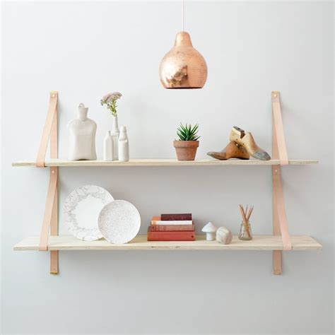 home decor diy trends mini trend shelf hot shelves leather strap shelves and