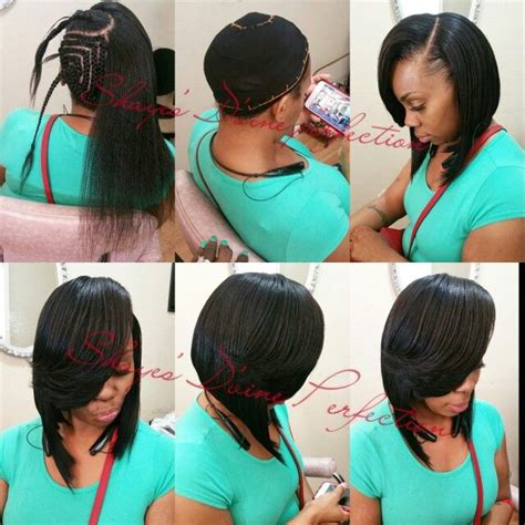 pronto bob hairstyles 71 best weave images on pinterest hair dos hairdos and