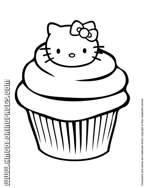 hello kitty birthday cake coloring page 692 best hello kitty party images on pinterest hello