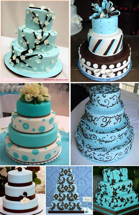 Wedding Cakes Ideas: Latest Blue Wedding Cakes