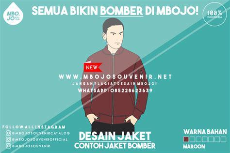 desain jaket merah desain contoh jaket bomber merah maroon mbojosouvenir net