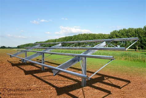 Solar Rack by Solar Flexrack Utility Scale Ground Mounts Per Watt Barrier Solar Builder