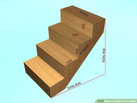 step a casa how to build porch steps 13 steps with pictures wikihow