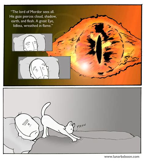Mordor Meme - lunarbaboon comics mordor