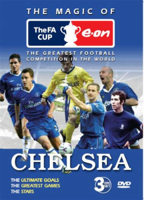 Dvd Chelsea The The Goals The chelsea fc the magic of the fa cup dvd zavvi