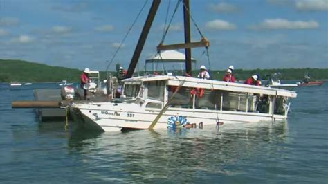 duck boat accident ntsb releases preliminary findings in branson duck boat