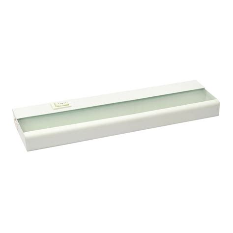 Shop Amax Lighting 12 In Hardwired Plug In Under Cabinet Cabinet Lighting Led Hardwire