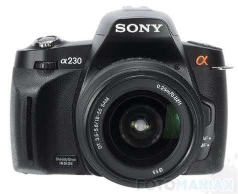 Kamera Digital Sony Dslr A230 sony alpha dslr a230 przechodzi na emerytur苹 fotomaniak pl
