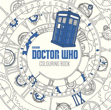 Doctor Who The Colouring Book Merchandise Guide The The Colouring Book