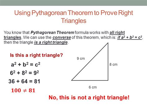 pythagorean theorem 8th math presented by mr laws ppt